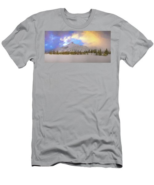 Mid-winter Sunset Men's T-Shirt (Athletic Fit)