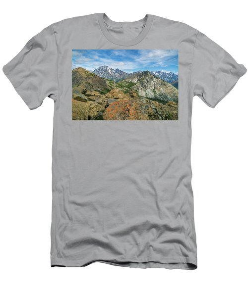Midday At Iron Peak Men's T-Shirt (Athletic Fit)