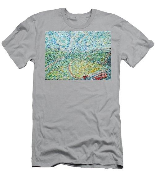 Midday Steam Men's T-Shirt (Slim Fit) by Anna Yurasovsky