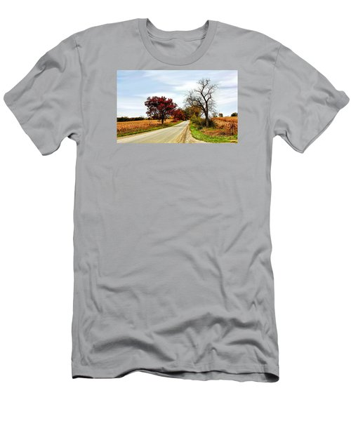 Midwest Autumn  Men's T-Shirt (Athletic Fit)
