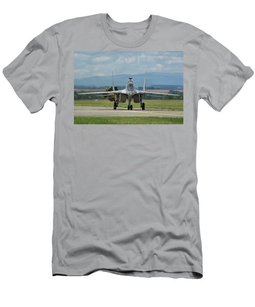 Mikoyan-gurevich Mig-29ubs Men's T-Shirt (Slim Fit) by Tim Beach