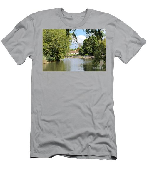 Mill Dam,tickhill Men's T-Shirt (Athletic Fit)