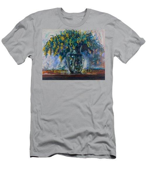 Mimosa Men's T-Shirt (Slim Fit) by Maxim Komissarchik