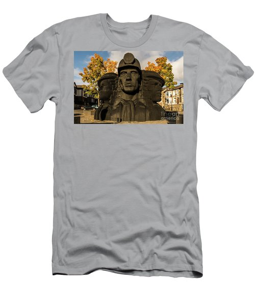Miners In The Autumn Men's T-Shirt (Athletic Fit)