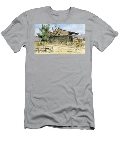 Mini No 1 Old Hay Shed Men's T-Shirt (Athletic Fit)