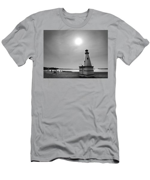 Miniature Lighthouse Men's T-Shirt (Athletic Fit)