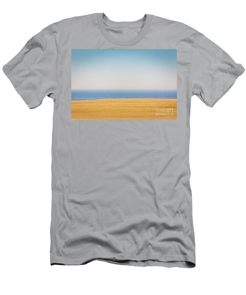 Minimal Lake Ontario Men's T-Shirt (Athletic Fit)