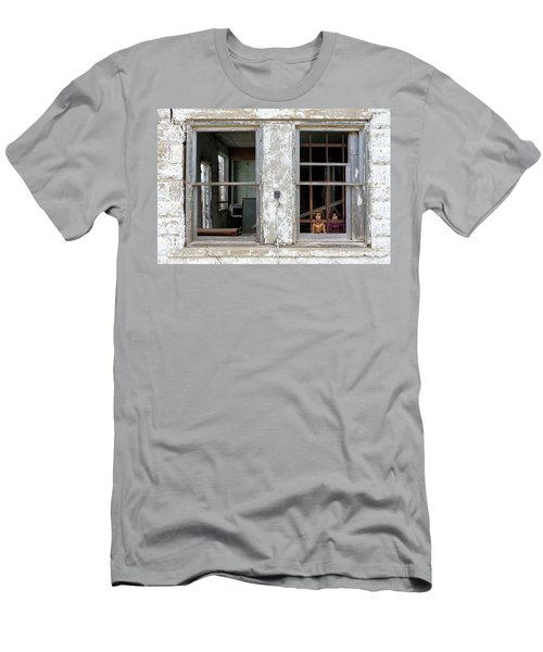 Minimum Security Men's T-Shirt (Slim Fit) by Christopher McKenzie