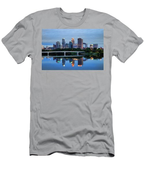 Minneapolis Reflections Men's T-Shirt (Athletic Fit)