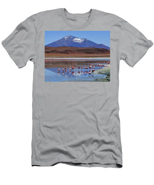 Men's T-Shirt (Slim Fit) featuring the photograph Mirage by Skip Hunt