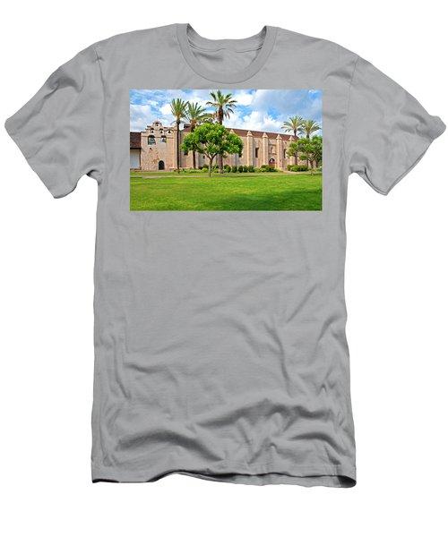 Mission San Gabriel Arcangel, San Gabriel, California Men's T-Shirt (Athletic Fit)