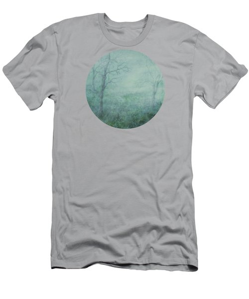 Mist On The Meadow Men's T-Shirt (Athletic Fit)