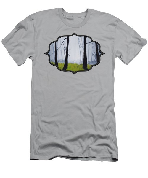 Misty Forest Men's T-Shirt (Slim Fit) by Anastasiya Malakhova