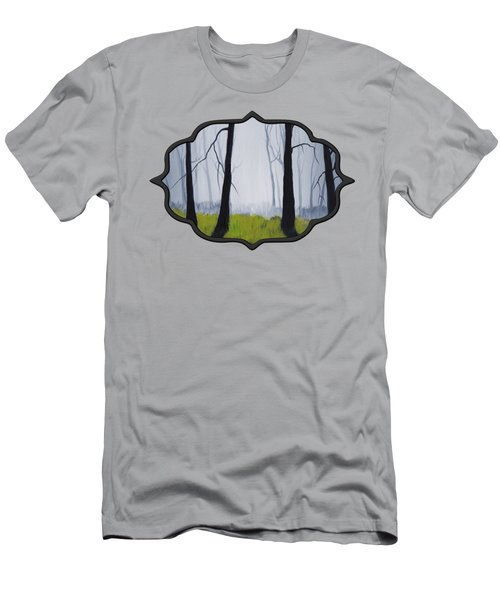 Misty Forest Men's T-Shirt (Athletic Fit)