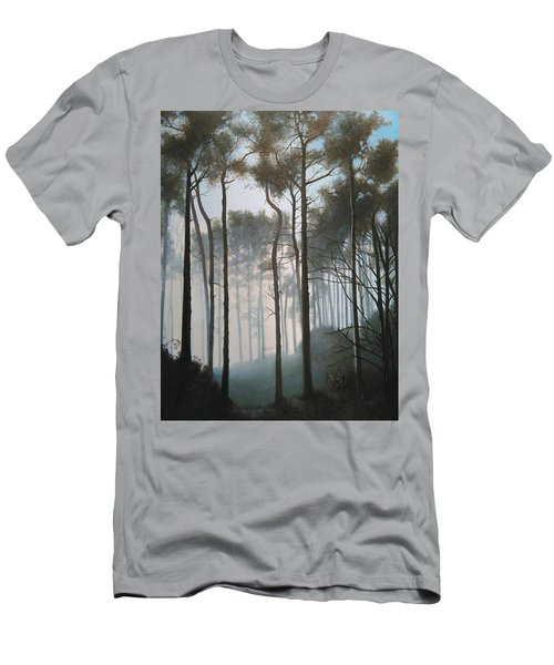 Misty Morning Walk Men's T-Shirt (Athletic Fit)