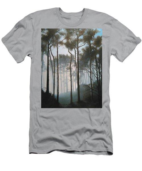 Misty Morning Walk Men's T-Shirt (Athletic Fit)