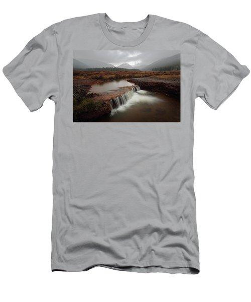 Misty Mountain Majesty  Men's T-Shirt (Athletic Fit)