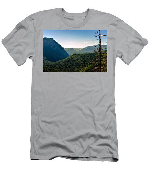 Misty Mountains Men's T-Shirt (Athletic Fit)