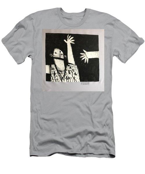 Mmcvii Paranoia No 2  Men's T-Shirt (Athletic Fit)