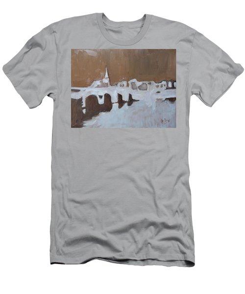 Moasbrogk In Brown Tints Men's T-Shirt (Athletic Fit)