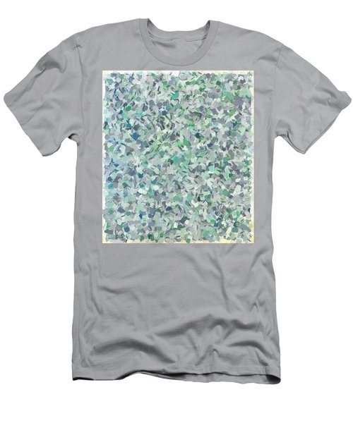 Modern Abstract Color Combination No 1 Men's T-Shirt (Athletic Fit)