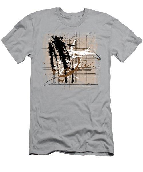 Modern Brown 2 Men's T-Shirt (Athletic Fit)