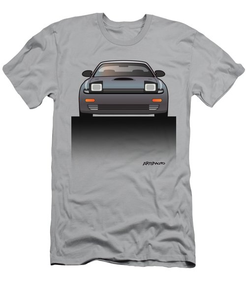 Modern Japanese Icons Series Toyota Celica  Gt-four All-trac Turbo St185 Split Men's T-Shirt (Athletic Fit)