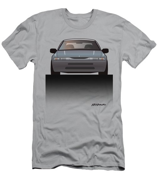 Modern Japanese Icons Subaru Alcyone Svx Split Men's T-Shirt (Athletic Fit)