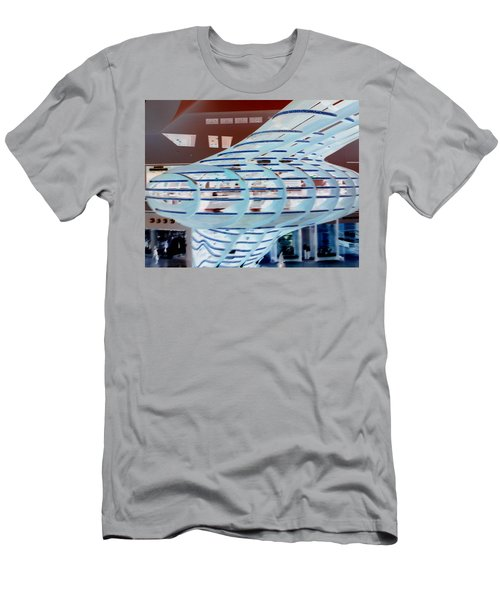 Ghostly Shopping Mall Men's T-Shirt (Athletic Fit)
