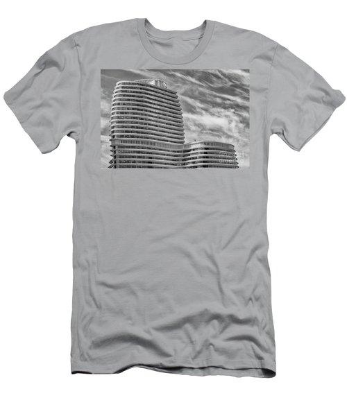 Modern Office Building Men's T-Shirt (Athletic Fit)