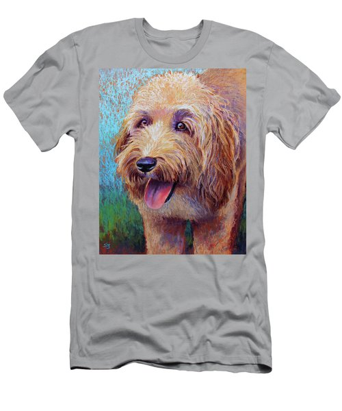 Mojo The Shaggy Dog Men's T-Shirt (Athletic Fit)