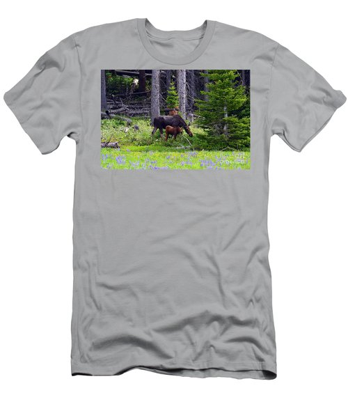 Mom And Baby Men's T-Shirt (Athletic Fit)
