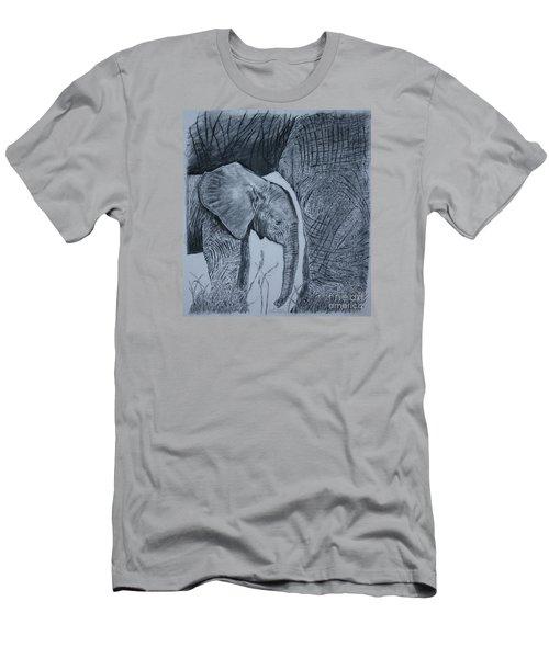 Moms Shadow Men's T-Shirt (Slim Fit) by David Joyner