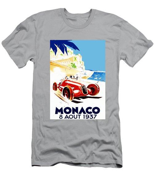 Monaco 1937 Men's T-Shirt (Athletic Fit)