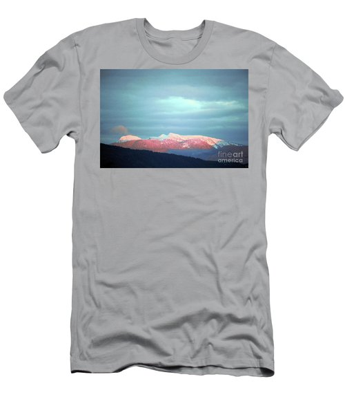Monashee Sunset Men's T-Shirt (Slim Fit) by Victor K