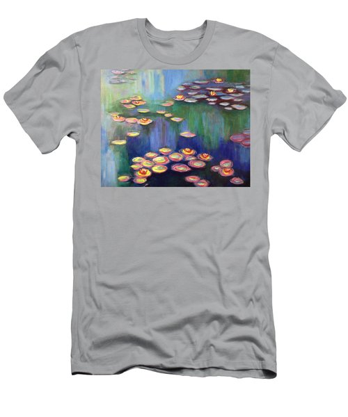 Monet's Lily Pads Men's T-Shirt (Athletic Fit)