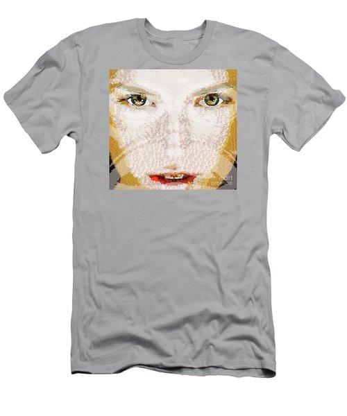 Monkey Glows Men's T-Shirt (Slim Fit) by Catherine Lott