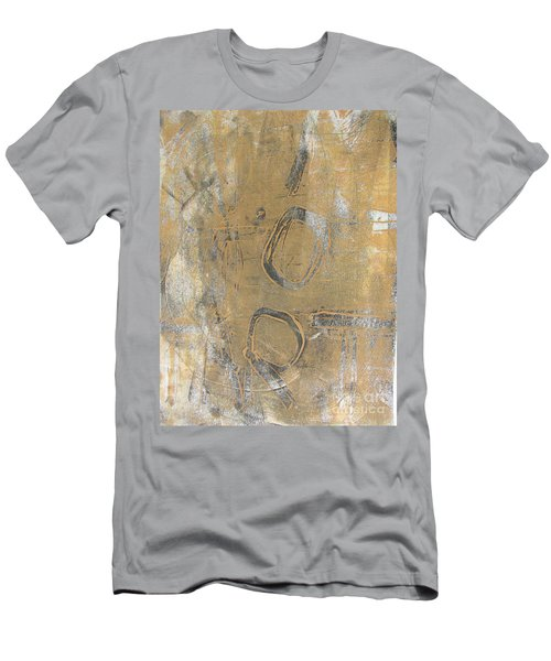 Men's T-Shirt (Slim Fit) featuring the drawing Mono Print 003 - I Am Not Art by Mudiama Kammoh