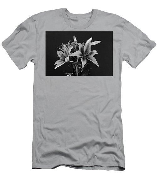 Monochrome Grace Men's T-Shirt (Athletic Fit)