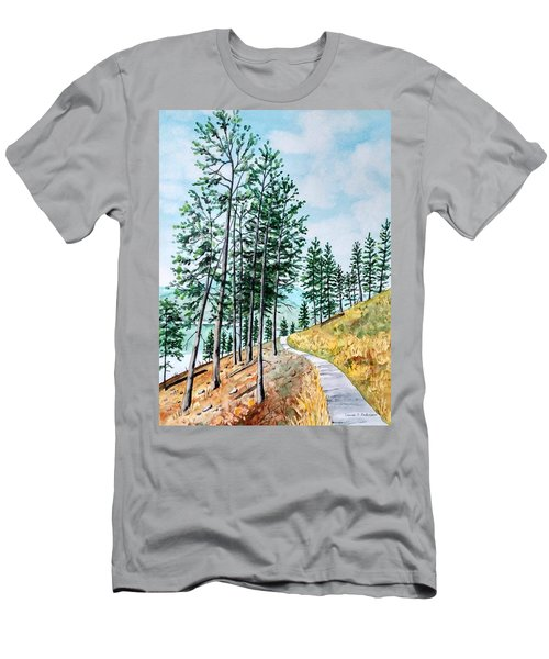 Montana Lake Como Trail Men's T-Shirt (Athletic Fit)