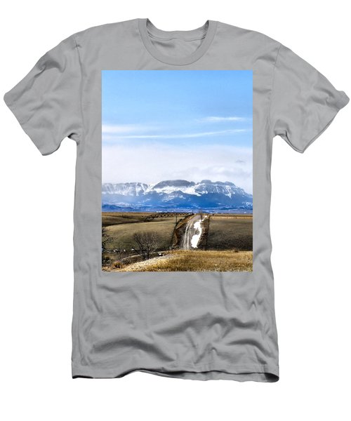 Montana Scenery One Men's T-Shirt (Athletic Fit)