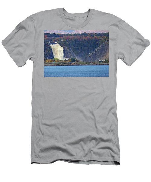 Montmorency Falls Men's T-Shirt (Athletic Fit)