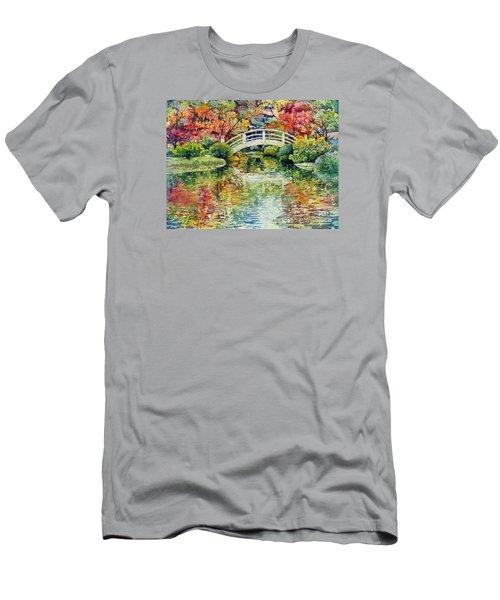 Moon Bridge Men's T-Shirt (Athletic Fit)