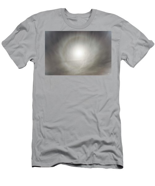 Men's T-Shirt (Slim Fit) featuring the photograph Moon Dog by Leland D Howard