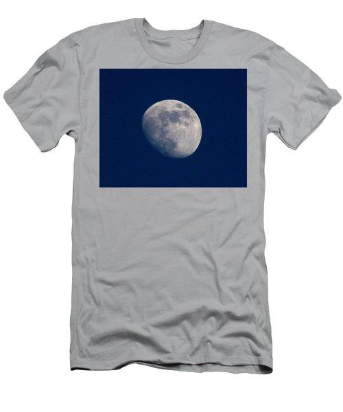 Moon From Bow, Wa Men's T-Shirt (Slim Fit) by Karen Molenaar Terrell
