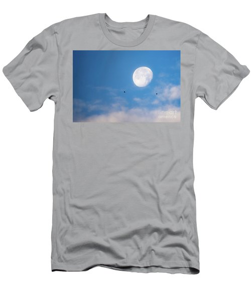 Moon Set Men's T-Shirt (Athletic Fit)