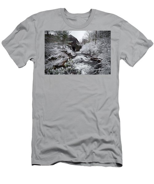 Men's T-Shirt (Athletic Fit) featuring the photograph Moore State Park 4 by Brian Hale