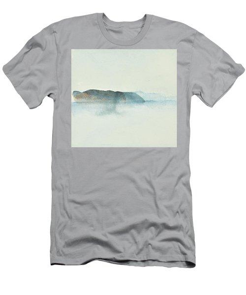 Morgondis Over Kusten - Morning Haze Over The Swedish Westcoast, Hunnebo_1211 Up To 70 X 70 Cm Men's T-Shirt (Athletic Fit)