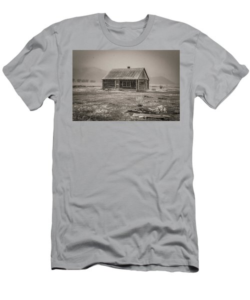 Mormon Row Grand Teton National Park  Men's T-Shirt (Athletic Fit)