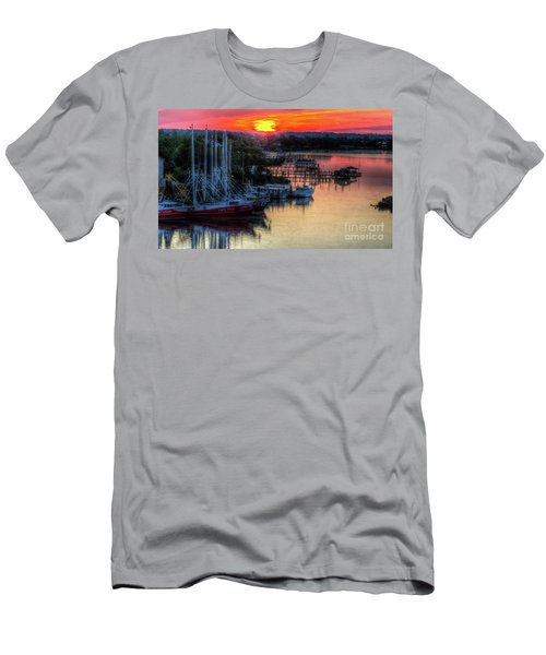 Morning Bliss Men's T-Shirt (Slim Fit) by Maddalena McDonald